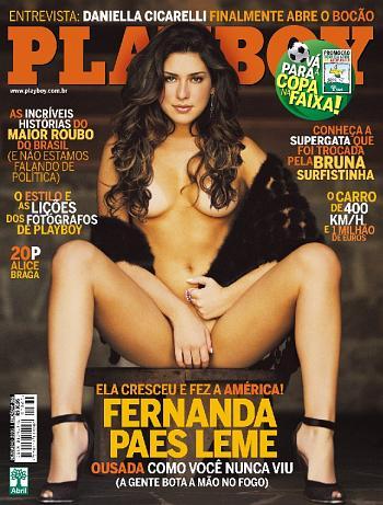 Fernanda Paes Leme Playboy Dezembro 2005