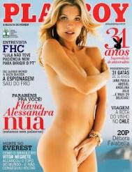 Flavia Alessandra Playboy Agosto 2006