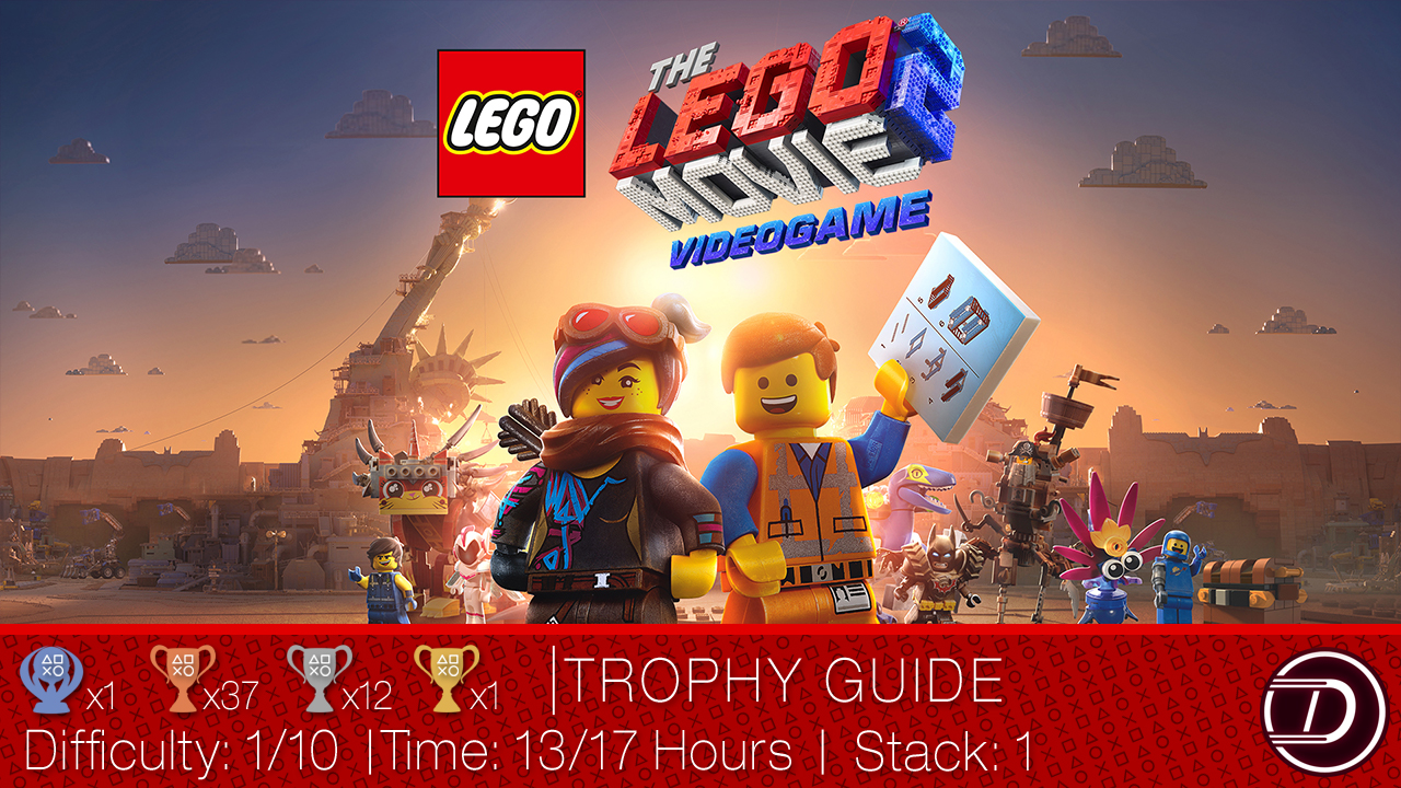 The LEGO Movie 2: Videogame Trophy Guide