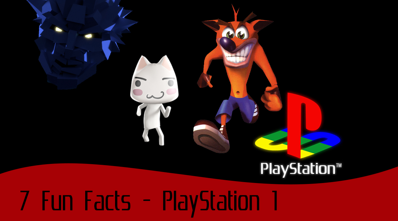 fun facts playstation 1 banner image