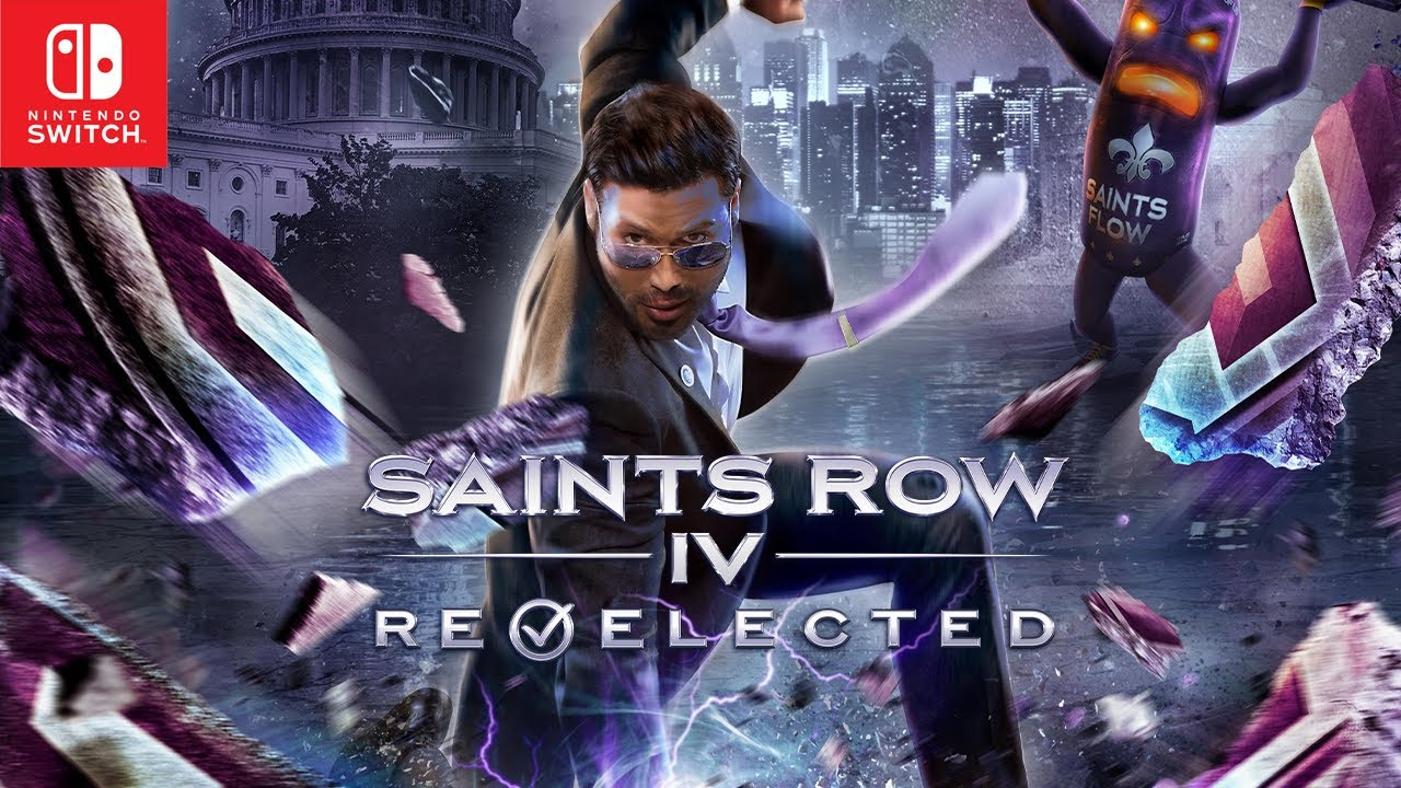 Saints Row IV Re-Elected Launches on the Nintendo Switch This March