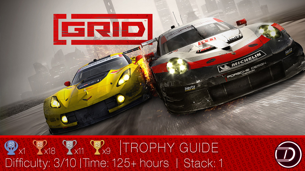 GRID {2019} Trophy Guide