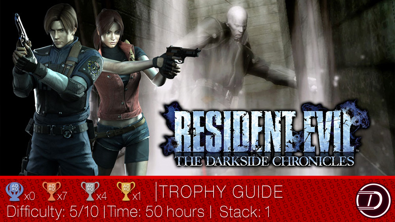 Resident Evil: The Darkside Chronicles Trophy Guide