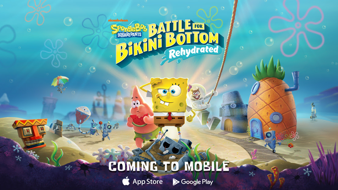 SpongeBob SquarePants: Battle for Bikini Bottom – Rehydrated Is Coming To Mobile