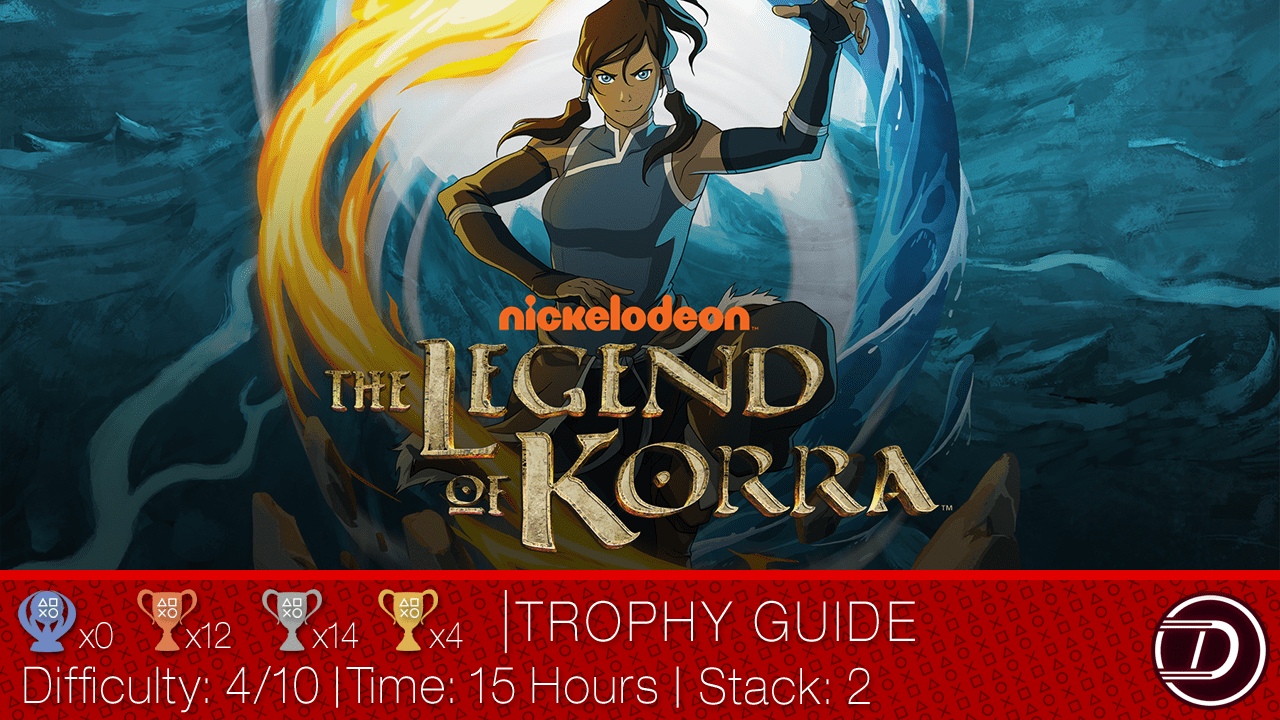 The Legend of Korra Trophy Guide