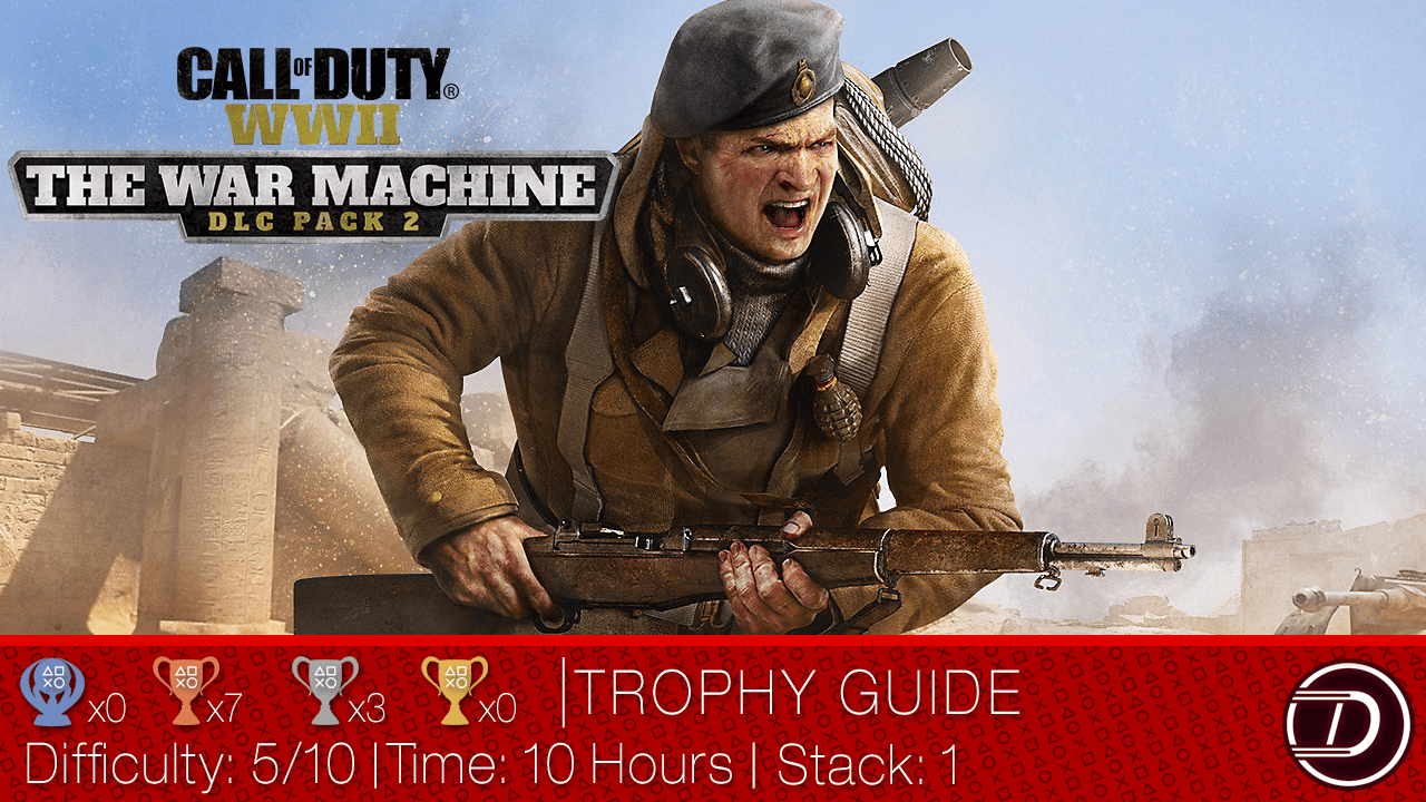 Call of Duty: WWII – War Machine DLC Trophy Guide