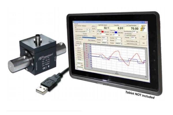 torque meters type RT2-USB van 0.5Nm tot 5000Nm