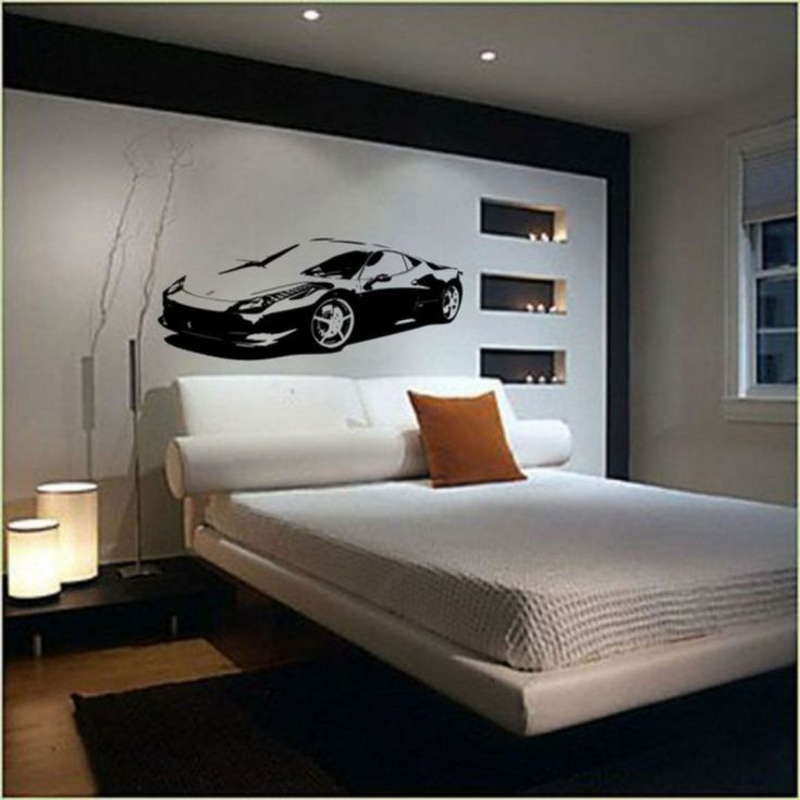 Awesome Wall Small Master Bedroom