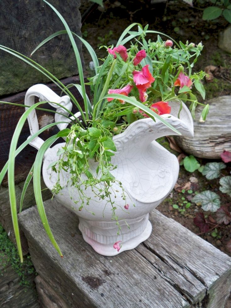 Garden Ideas From Recycled Materials 101