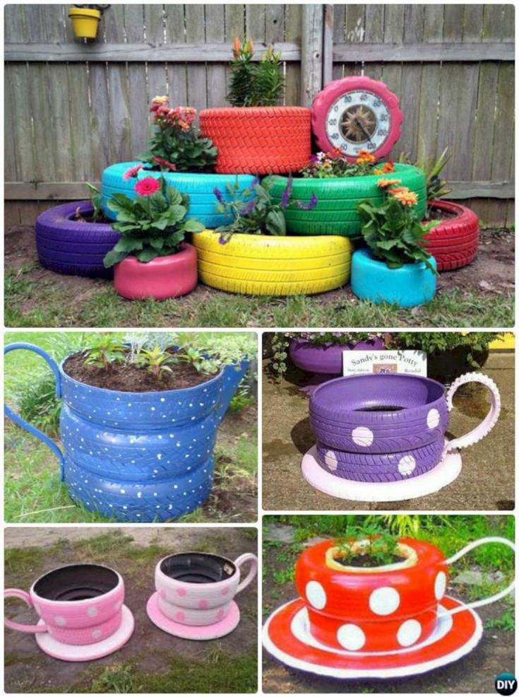 Garden Ideas From Recycled Materials 1011
