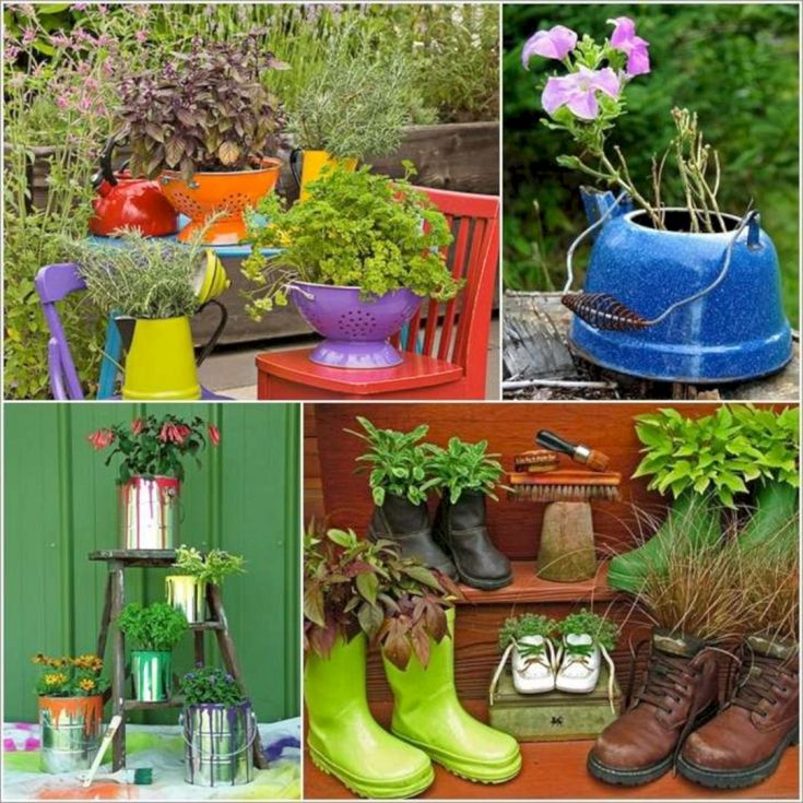 Garden Ideas From Recycled Materials 1016