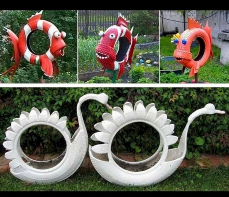 Garden Ideas From Recycled Materials 1019