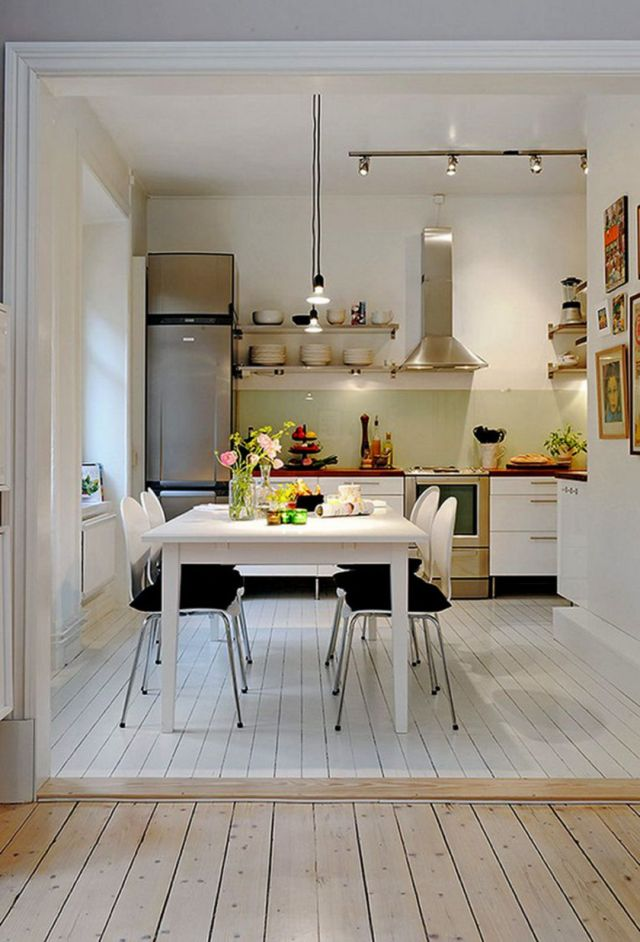 35 Outstanding Small Kitchen Studio Designs For Comfort ...