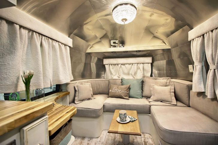 Modern Air Streams Dream Campers