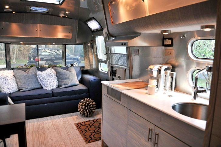 Modern Kitchen RV Interior Design