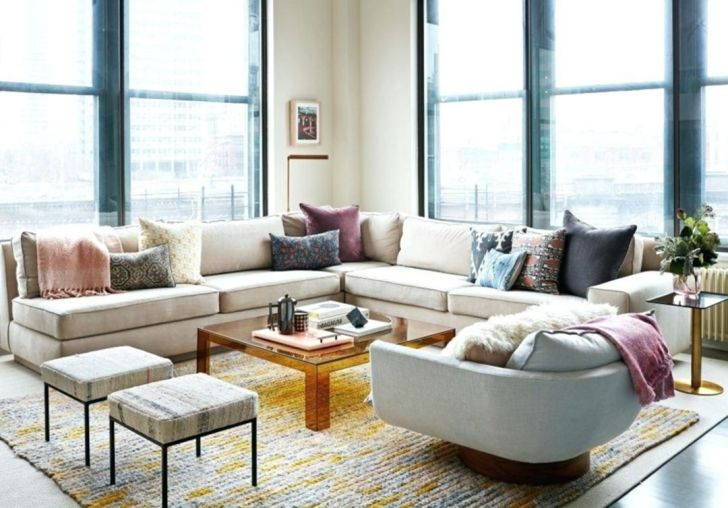 Modern Small Industrial Living Room Decor Ideas