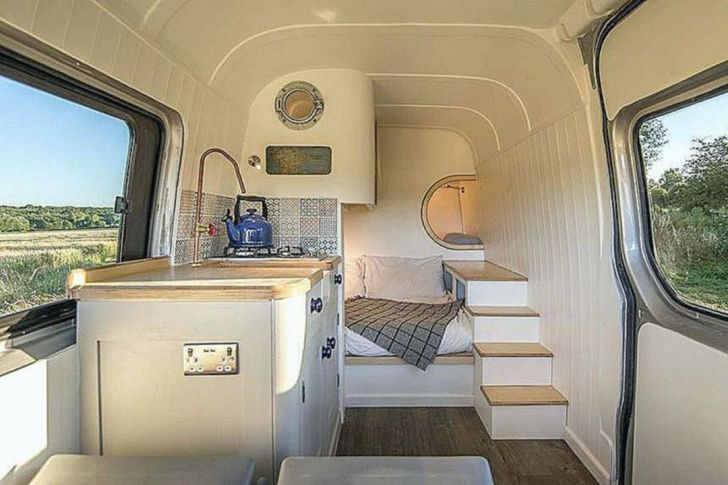 Modern Small RV Interior