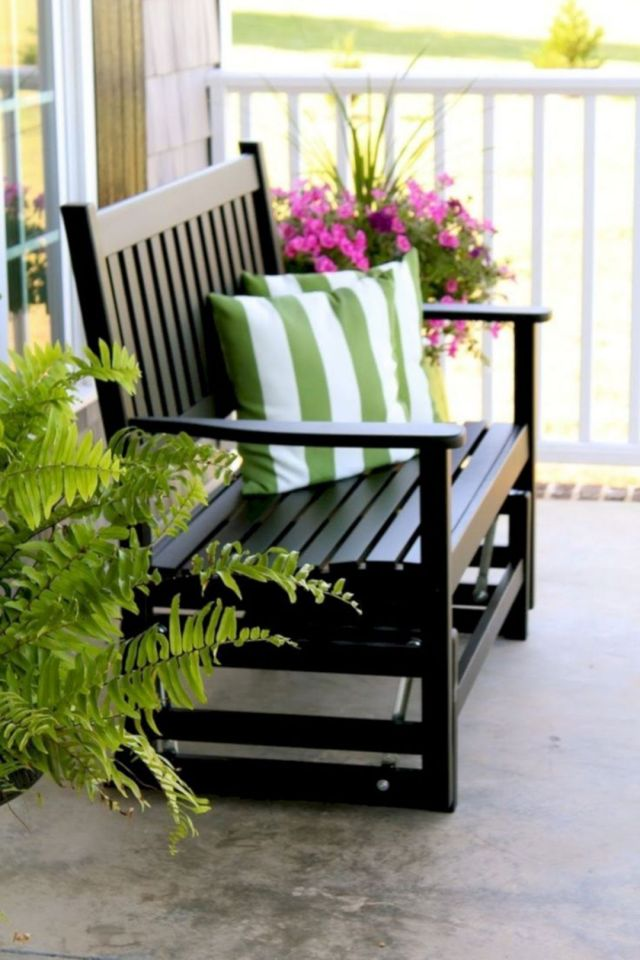 Pretty Front Porch Decorating