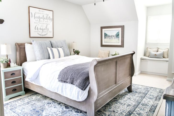 30 Best And Affordable Modern Farmhouse Bedroom For Perfect Sleep