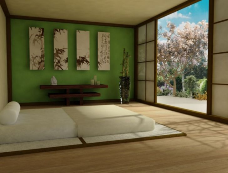 Calm And Peaceful Zen Bedroom Design