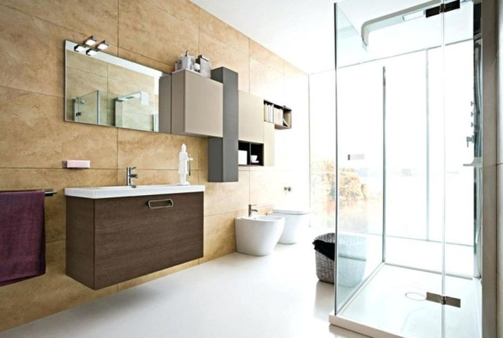Cute Contemporary Bathroom Design
