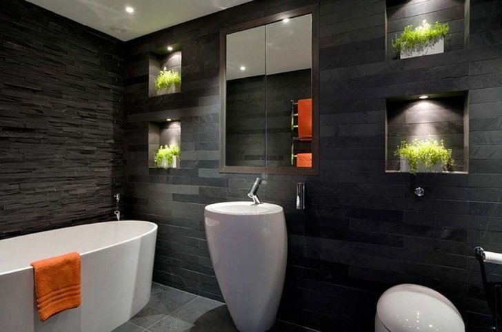 Elegant Small Modern Bathroom Wall Tile ideas