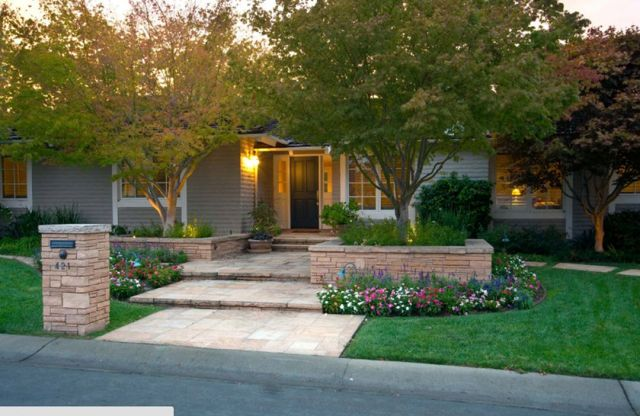 Fabulous Front Home Landscaping Design