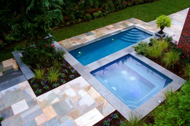 Lovely Swimming Pool Designs for Small Backyard
