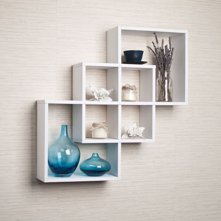 Modern Wall Shelves Decorating ideas
