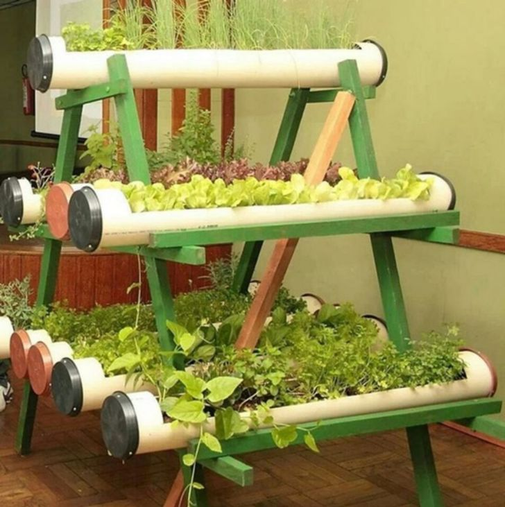 33 Best DIY Vertical Garden With PVC Pipes For Small Home