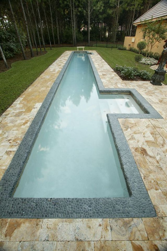 Small Lap Pools for Backyard