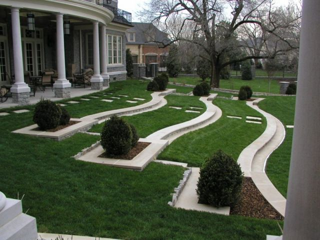 Unique And Beautiful Front Landscaping