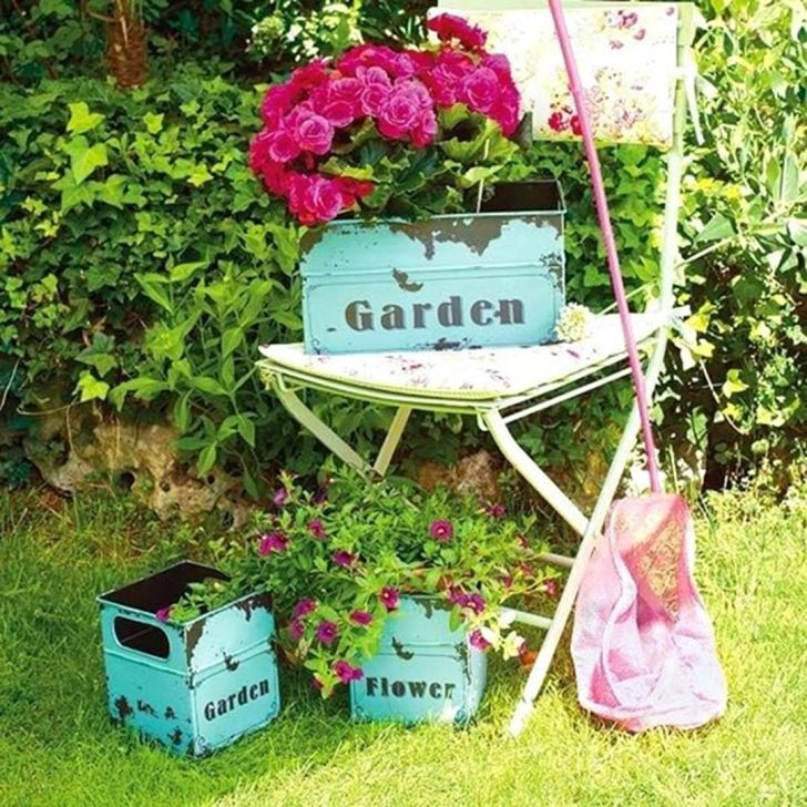 Beautiful Vintage Exposed Garden Decor Source tetbi club