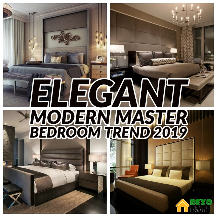 27 Elegant And Trend Modern Master Bedroom Design Ideas ...