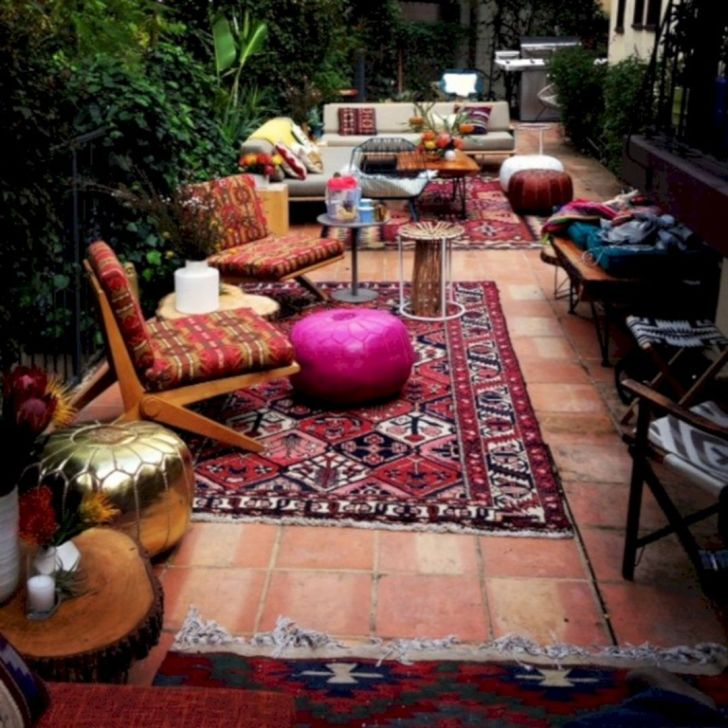 Lovely patio outdoor space ideas