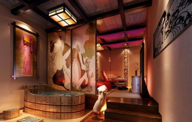 35 Elegant Japanese Bathroom Style For Natural Bathroom Inspirations Dexorate