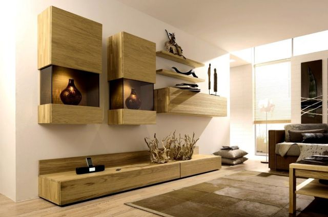 35 Stunning Wall Units Designs For Cozy Living Room Ideas Dexorate