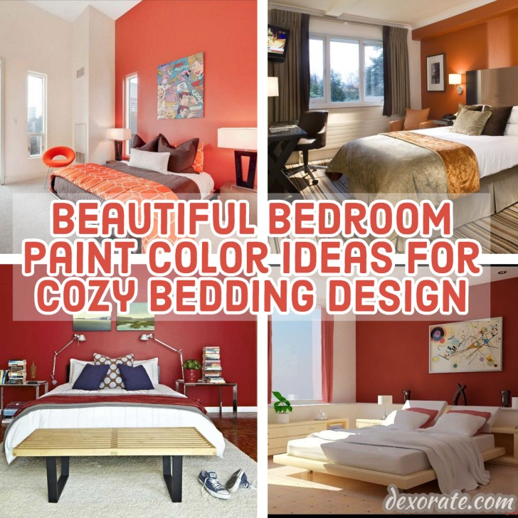 20+ Beautiful Bedroom Paint Color Ideas For Cozy Bedding ...