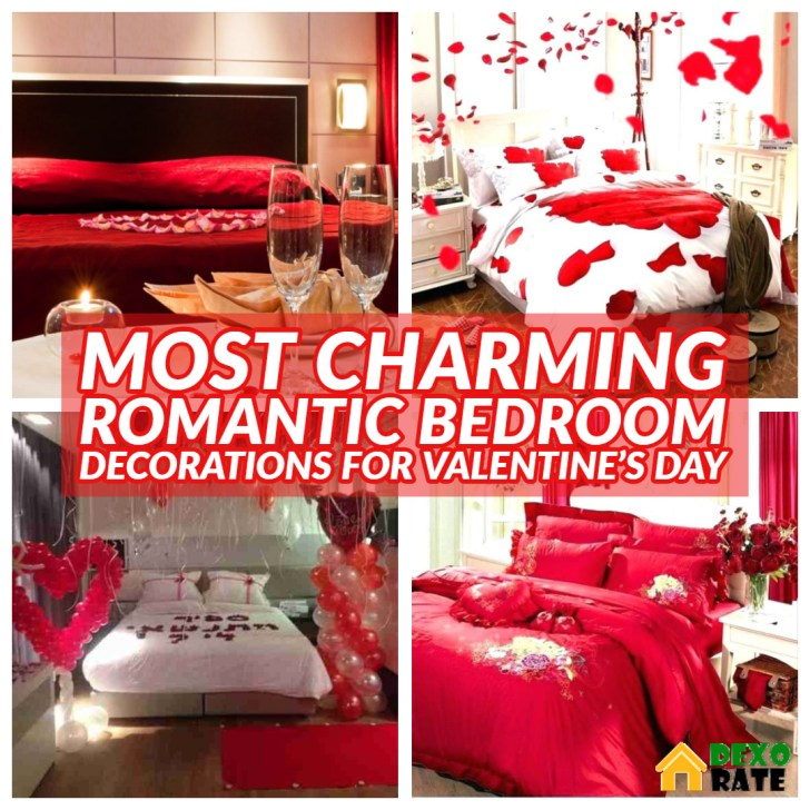 30 Most Charming Romantic Bedroom Decorations For Valentine S Day
