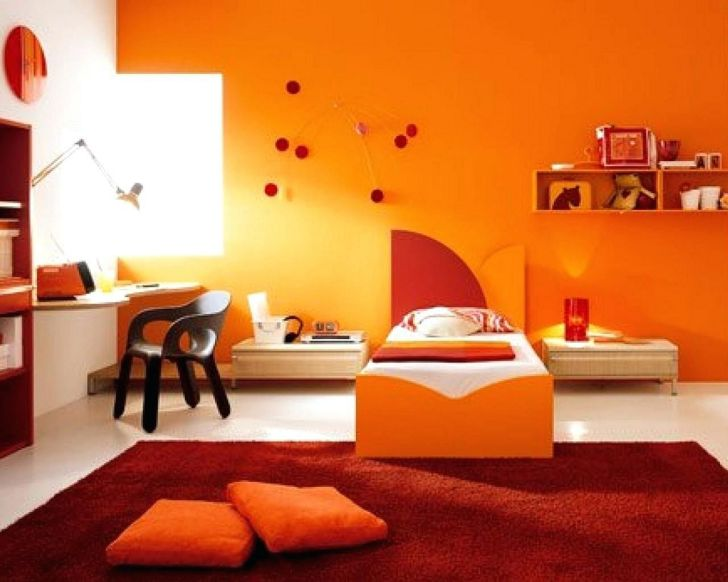 Orange Paint Color Ideas