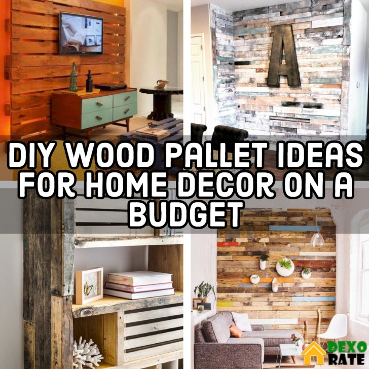 A Blog About Coastal Decor And Diy On A Budget: 20 DIY Wood Pallet Ideas For Home Decor On A Budget