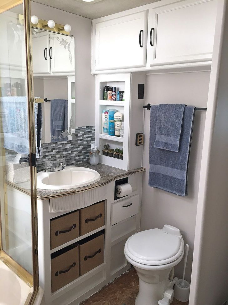 RV Bathroom Decoration Ideas