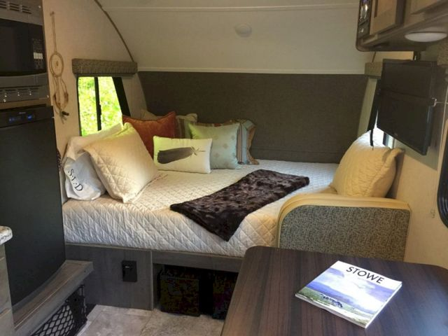 RV Motorhome Bedroom Ideas