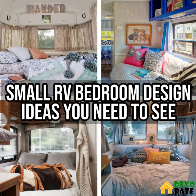 Small RV Bedroom Design Ideas You Need To See