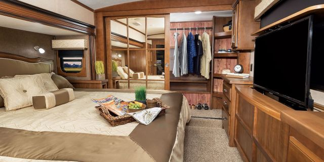 Wonderful RV Bedroom