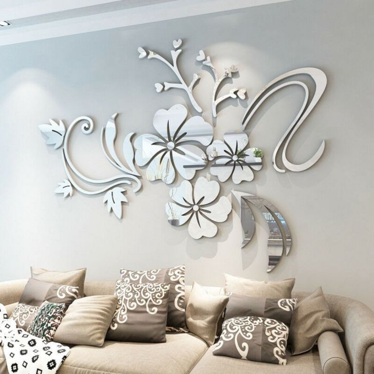 Bedroom Decoration With Wall Sticker