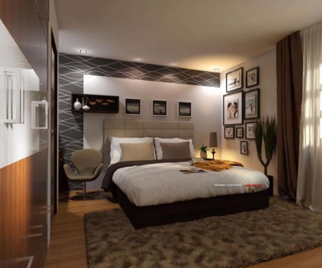 Cool Modern Master Bedroom Design ideas With Rugs