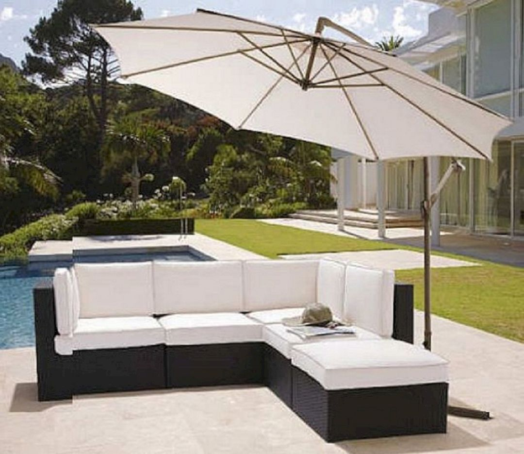 12 White Modern Outdoor Furniture Design Ideas You Need To ...