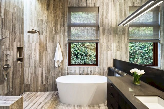 Awesome Rustic Wood Shower Ideas