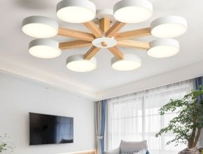 Awesome Wooden Ceiling Light Ideas